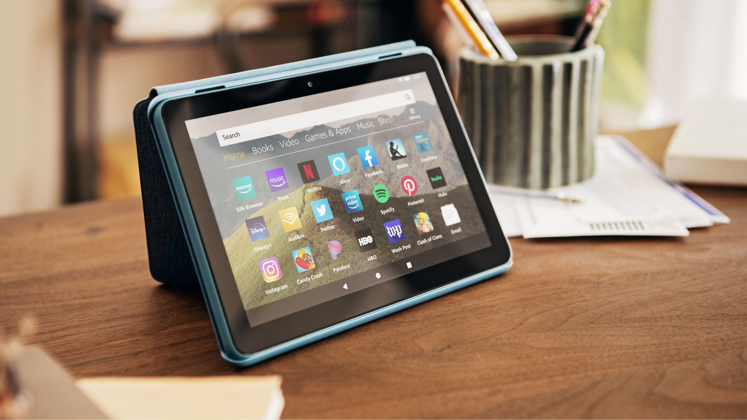 Amazon launches a new 8-inch tablet with Plus and Kids versions