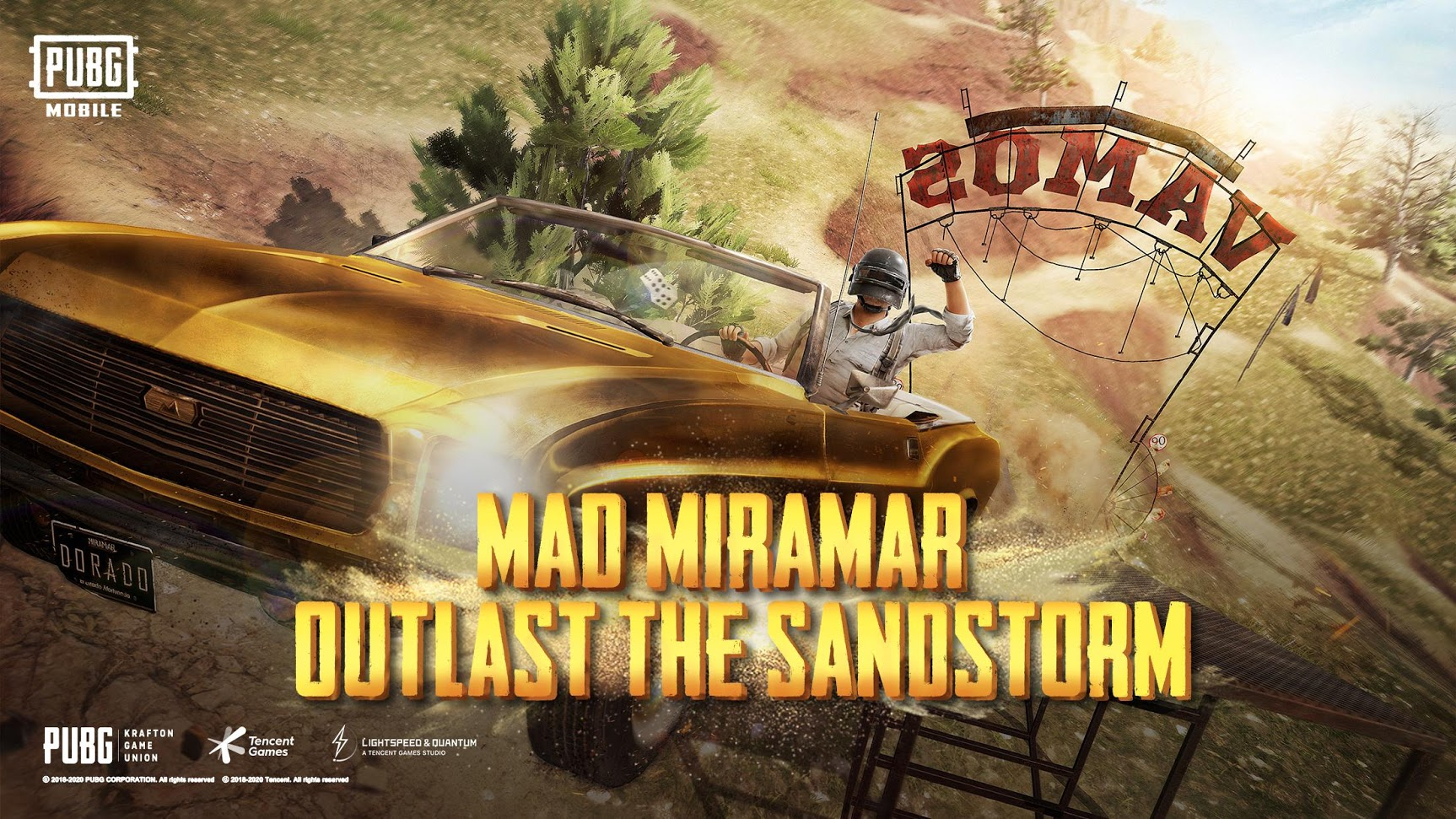 PUBG Mobile v0.18 Rolling Out with Mad Miramar, Cheer Park, and More