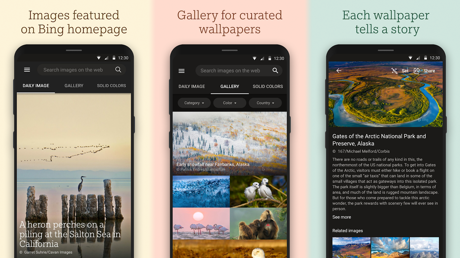 Bing Wallpapers App Launches With Daily Updates To Your Background
