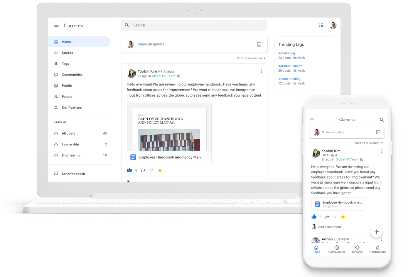 Google+ replacement 'Currents' launching on July 6 for G Suite users