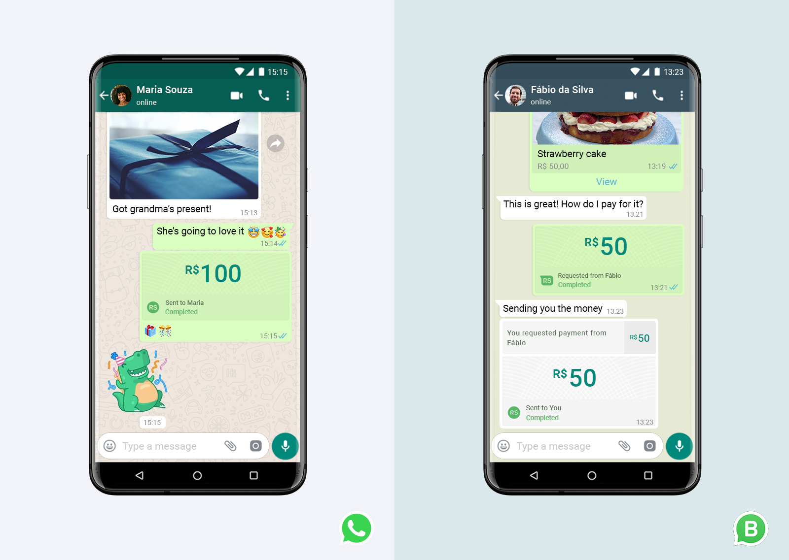 You can now send money, make payments over Whatsapp