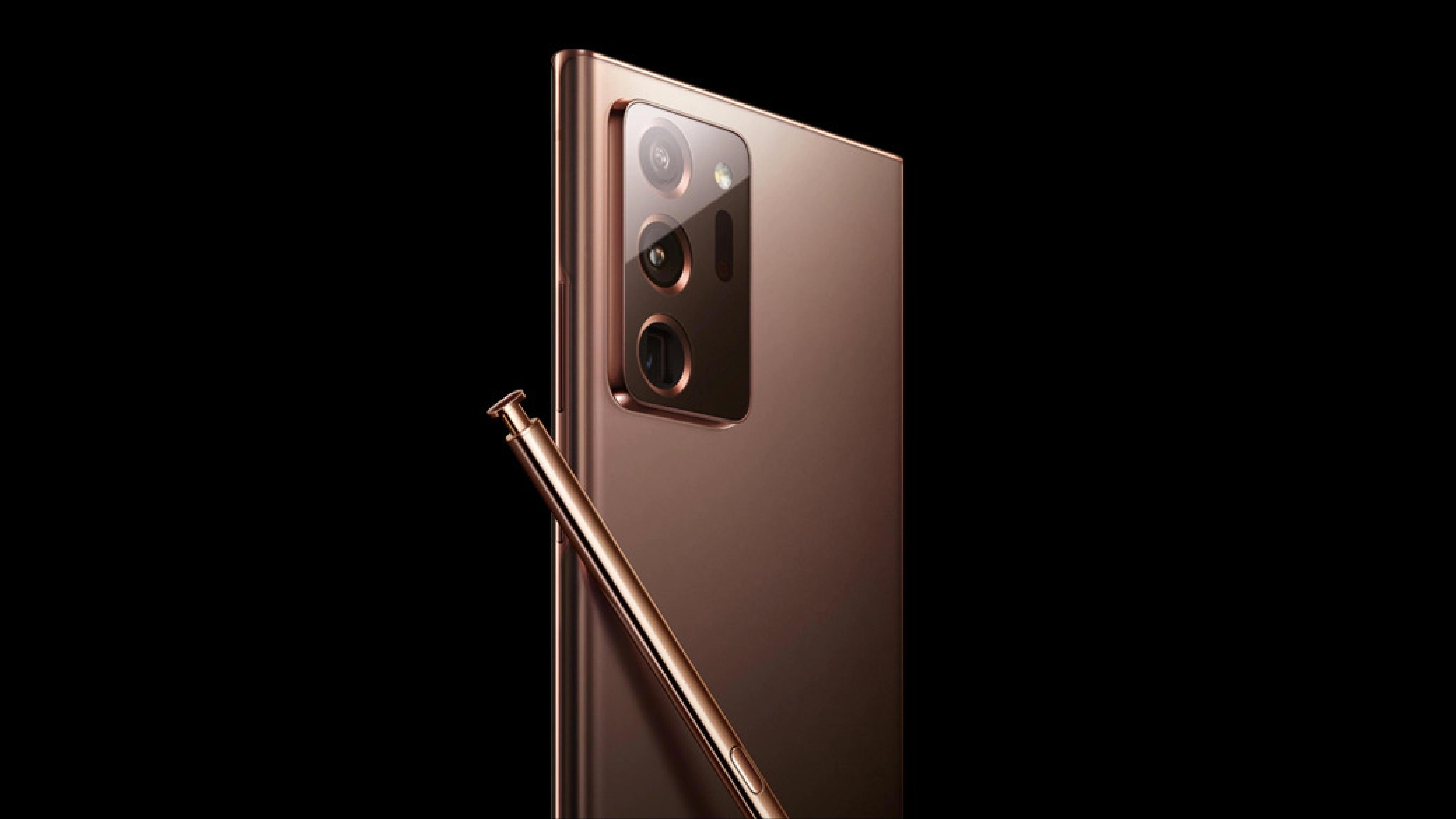 Galaxy Note20 渲染图