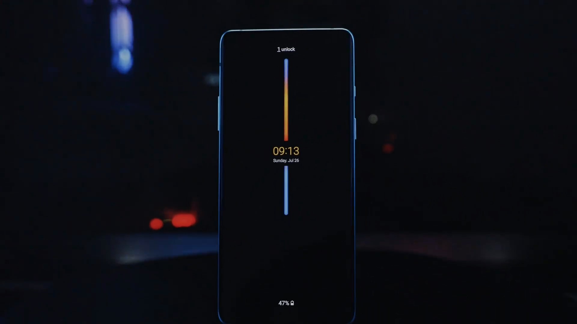 Always-on display for OnePlus phones could look something like this