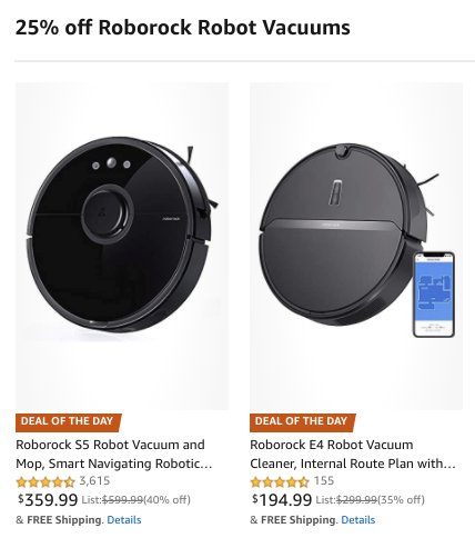 Roborock smart vacuums are up to $120 off on Amazon, today only