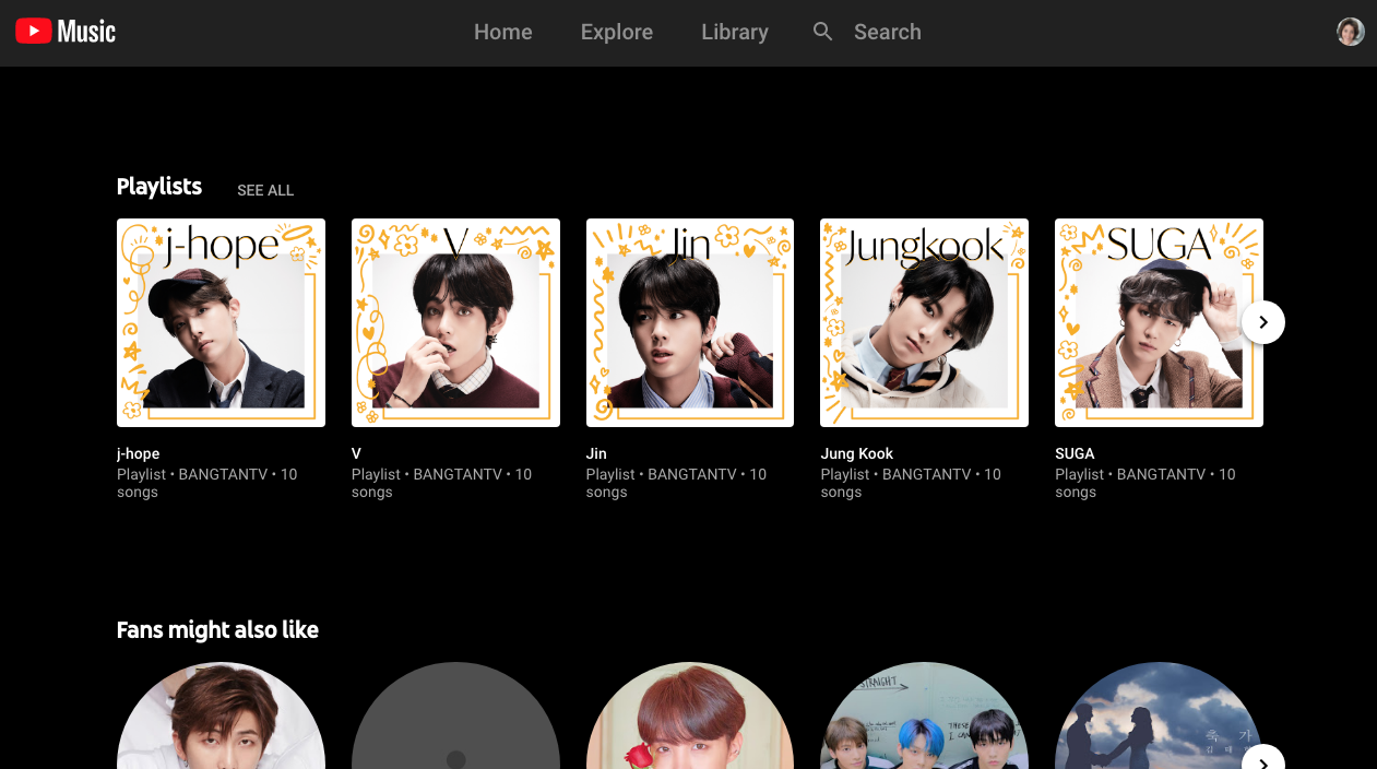 Youtube Music Now Features Playlists Hand Crafted By Artists