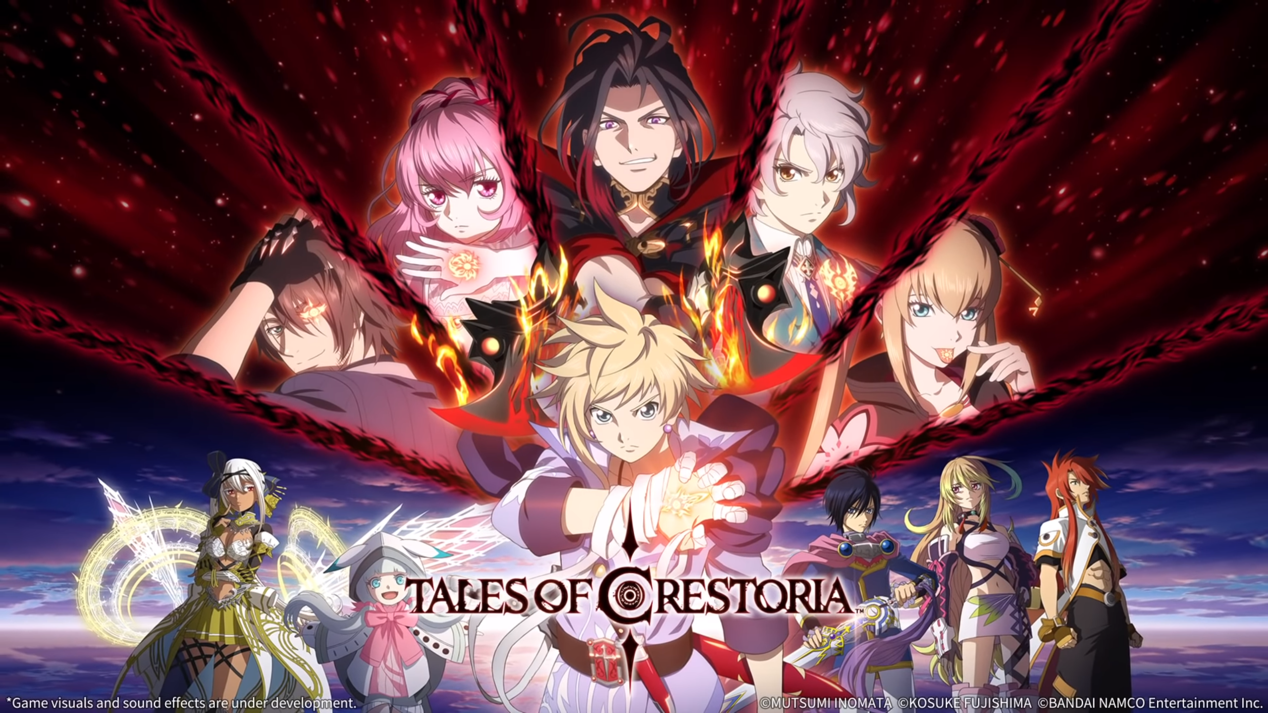 Tales of Crestoria is the latest gacha RPG to land on Android, and ...