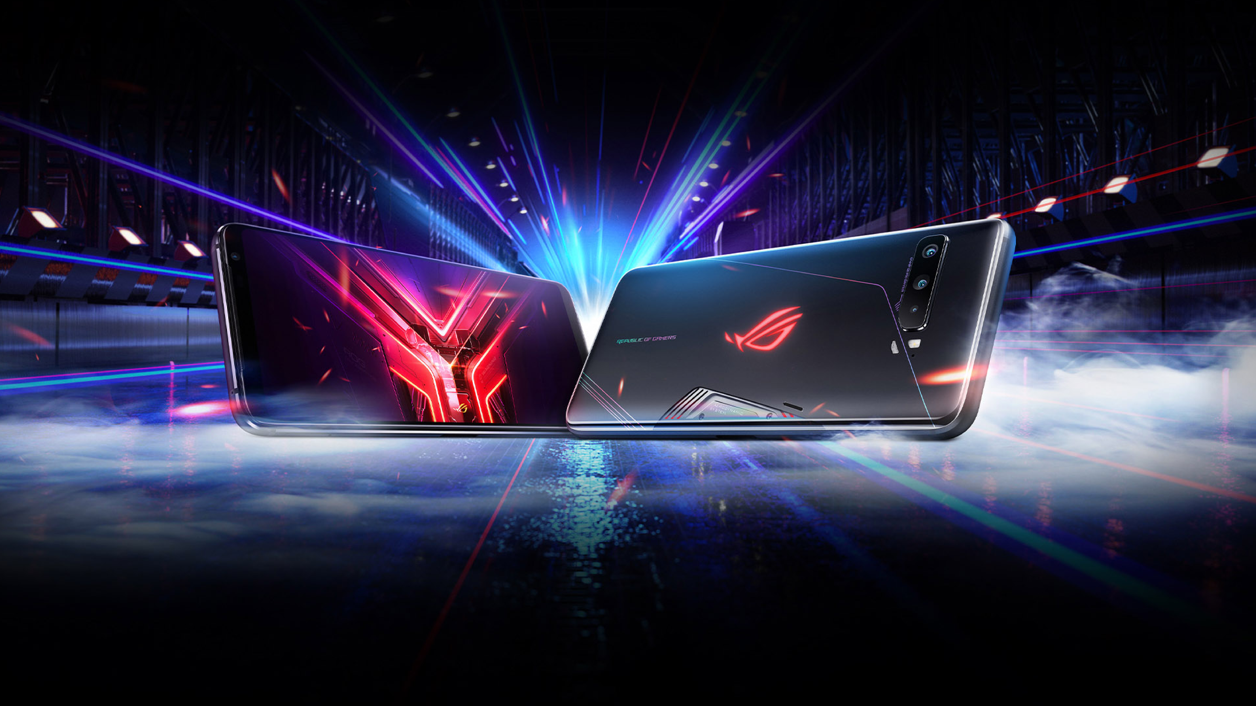 Download The Asus Rog Phone 3 S Live Wallpapers For Your Phone Right Now