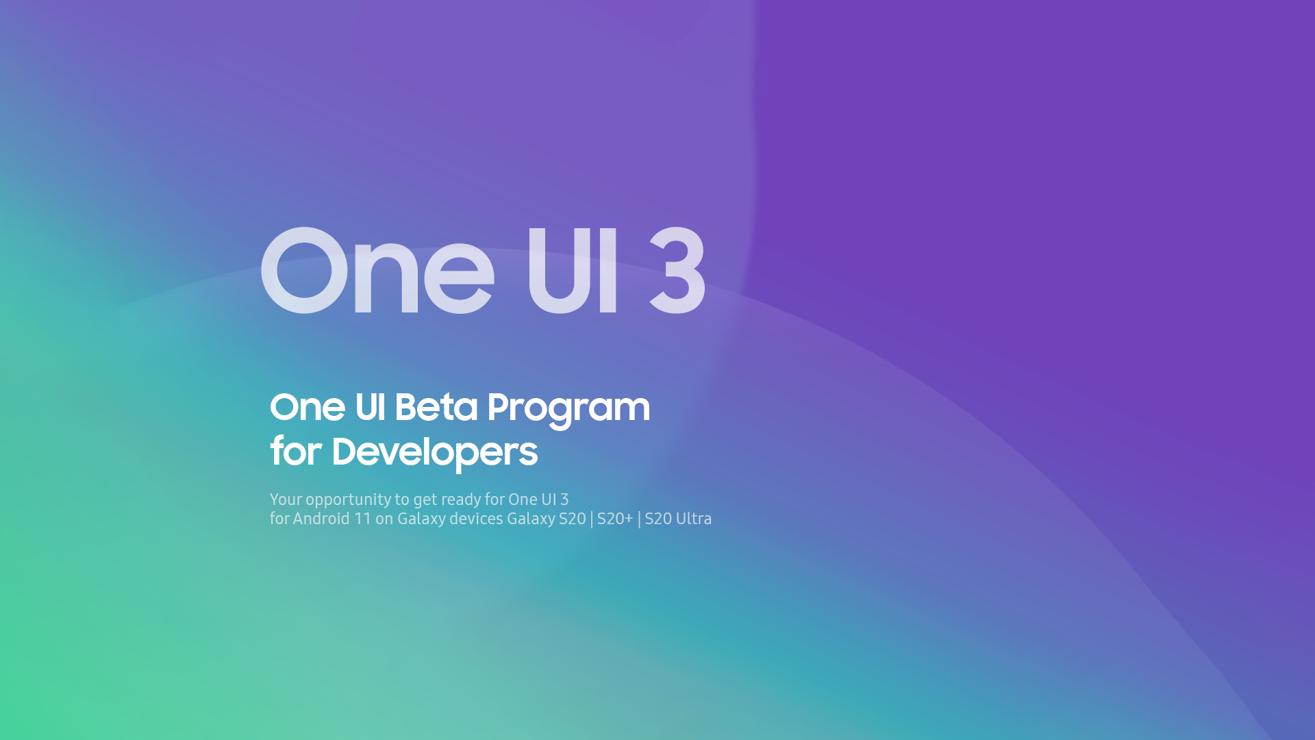 Samsung One UI 3 — based on Android 11 — is now in pre-beta