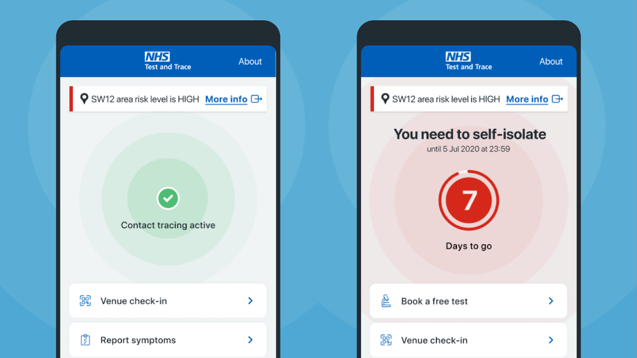 NHS COVID-19 app with Apple and Google's API begins testing in the UK