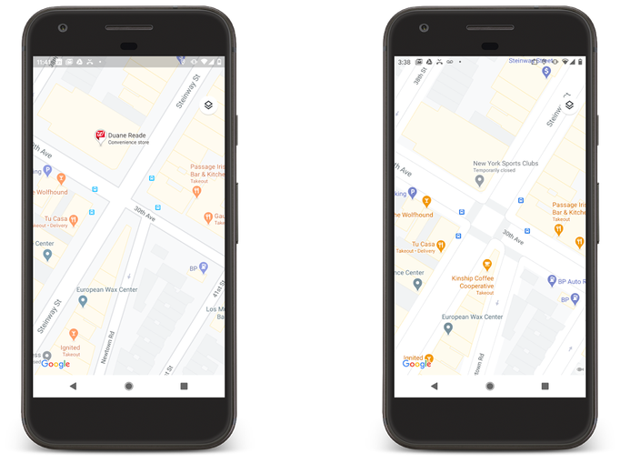 Updates to Google Maps add more detail to countries and city streets