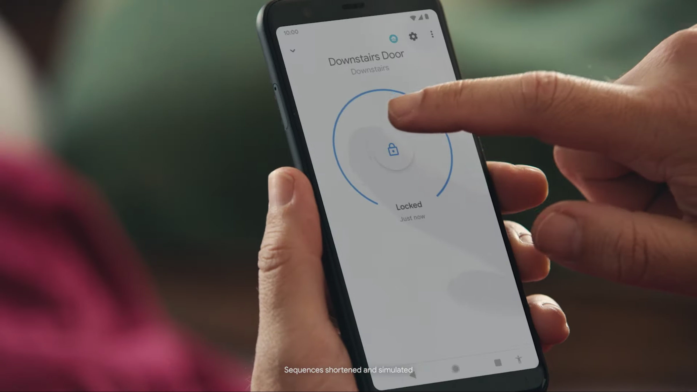 Google promo shows you could soon open Nest smart locks straight from the Home app