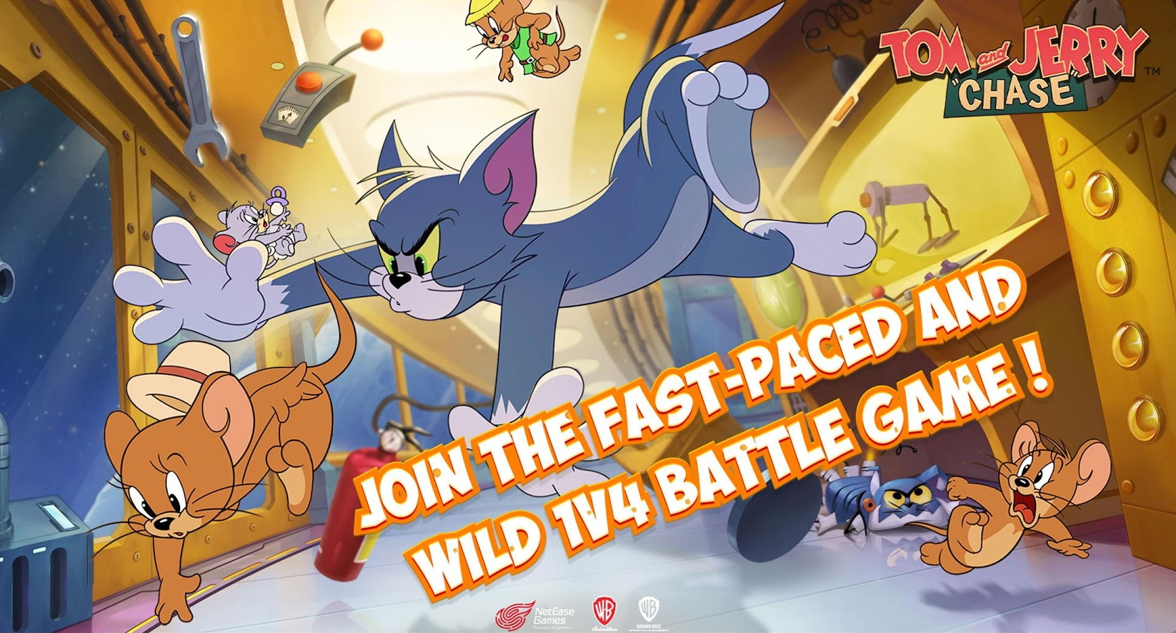 Tom And Jerry Chase Looks Like An Excellent Homage To The Classic Cartoon Out Now In
