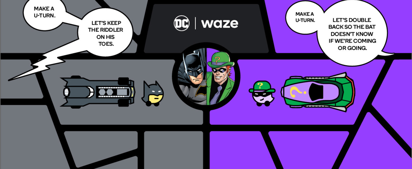 Get your Waze navigation courtesy of Kevin Conroy's Batman for a limited time