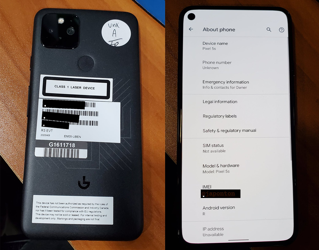 Google's Pixel plans get even more confusing as images of Pixel 5s surface