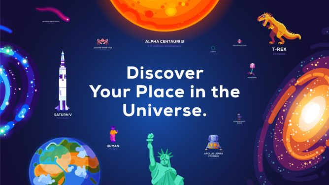 Kurzgesagt and Wait but Why collaborate on beautiful Universe in a Nutshell app - Android Police