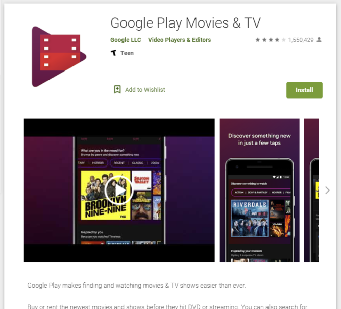 Google Play Movies & TV is now Google TV, including the app (APK Download) 4