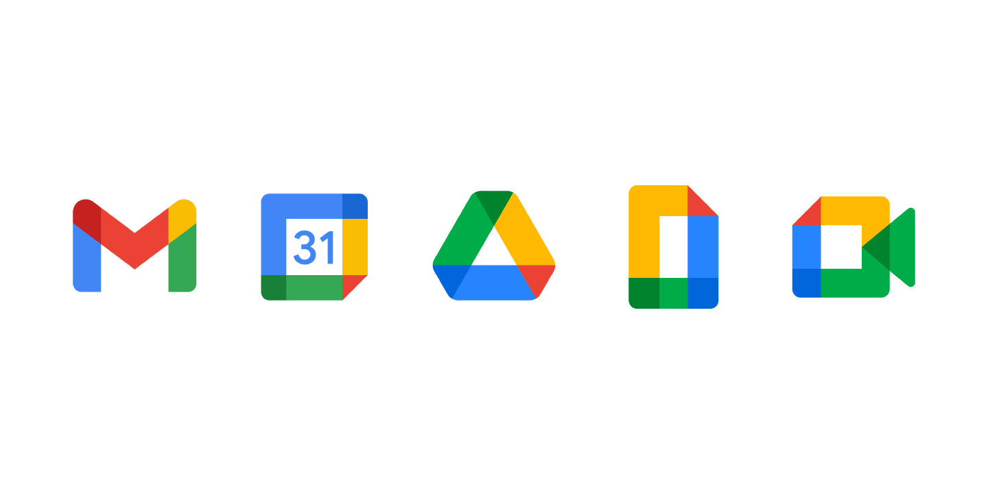 Google S New Icons For Gmail Calendar Drive Docs And Meet All Look The Same The most common aesthetic calendar material is paper. gmail calendar drive docs