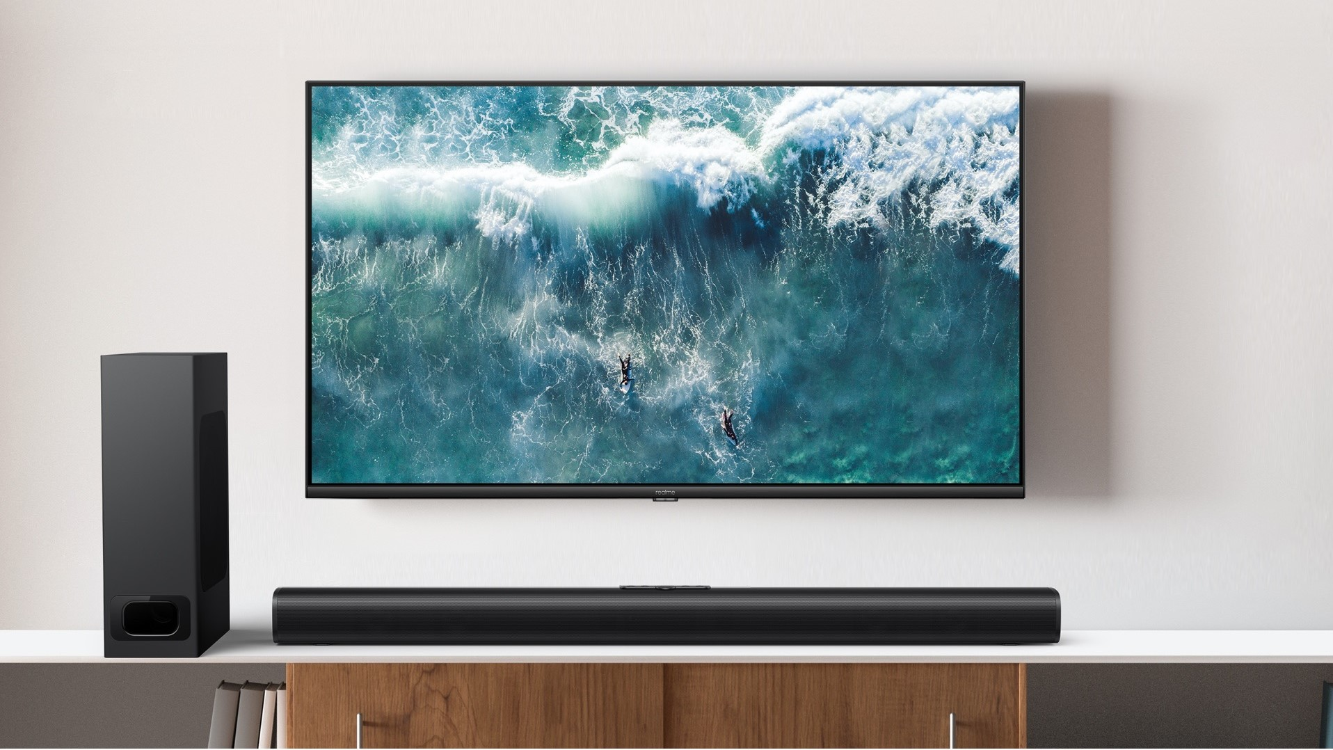Realme unveils 4K Android TV with new SLED tech alongside 100W soundbar - Android Police