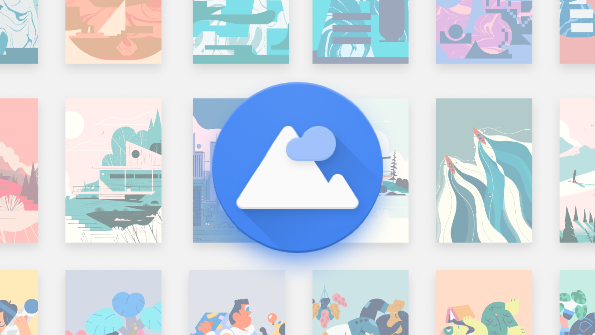 Google published a beautiful new set of wallpapers on Chrome OS, and you can download them here