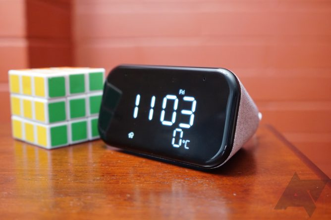 Get the Lenovo Smart Clock for , Smart Clock Essential for