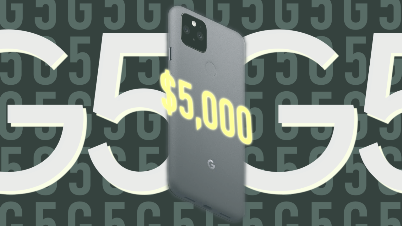 Google's handing out cash prizes in Pixel 5 $5G sweepstakes no purchase necessary – Android Police