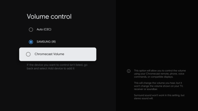 How to control Chromecast with Google TV volume using your phone 8