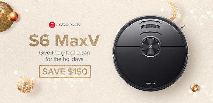 Save $150 on Roborock S6 MaxV