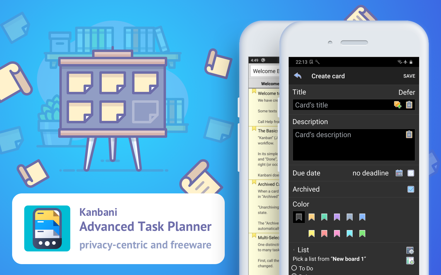 Take your productivity to new heights with Kanbani, a completely free task management app by PDApps (Sponsored)