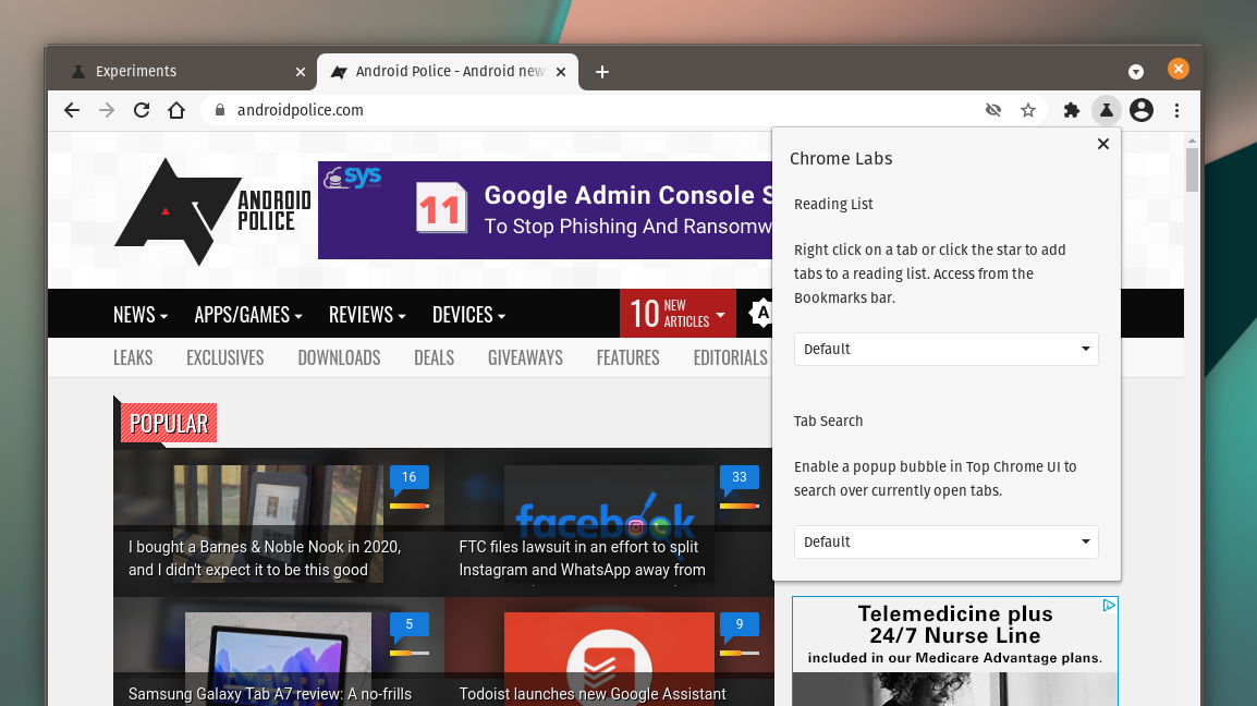 Chrome Labs is making it easier to try out new, experimental browser features