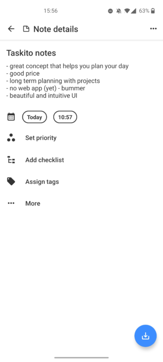 Hands-on with Taskito, a to-do app that does things a little differently 17