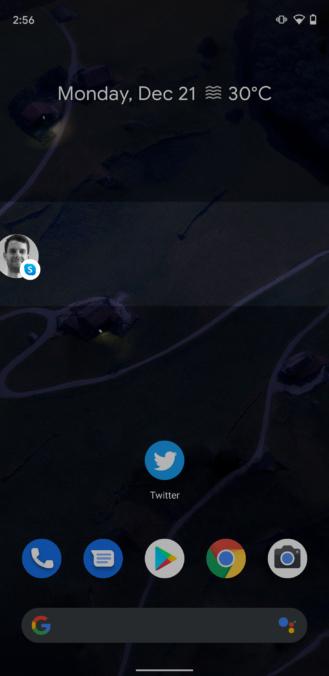 Skype Bubbles