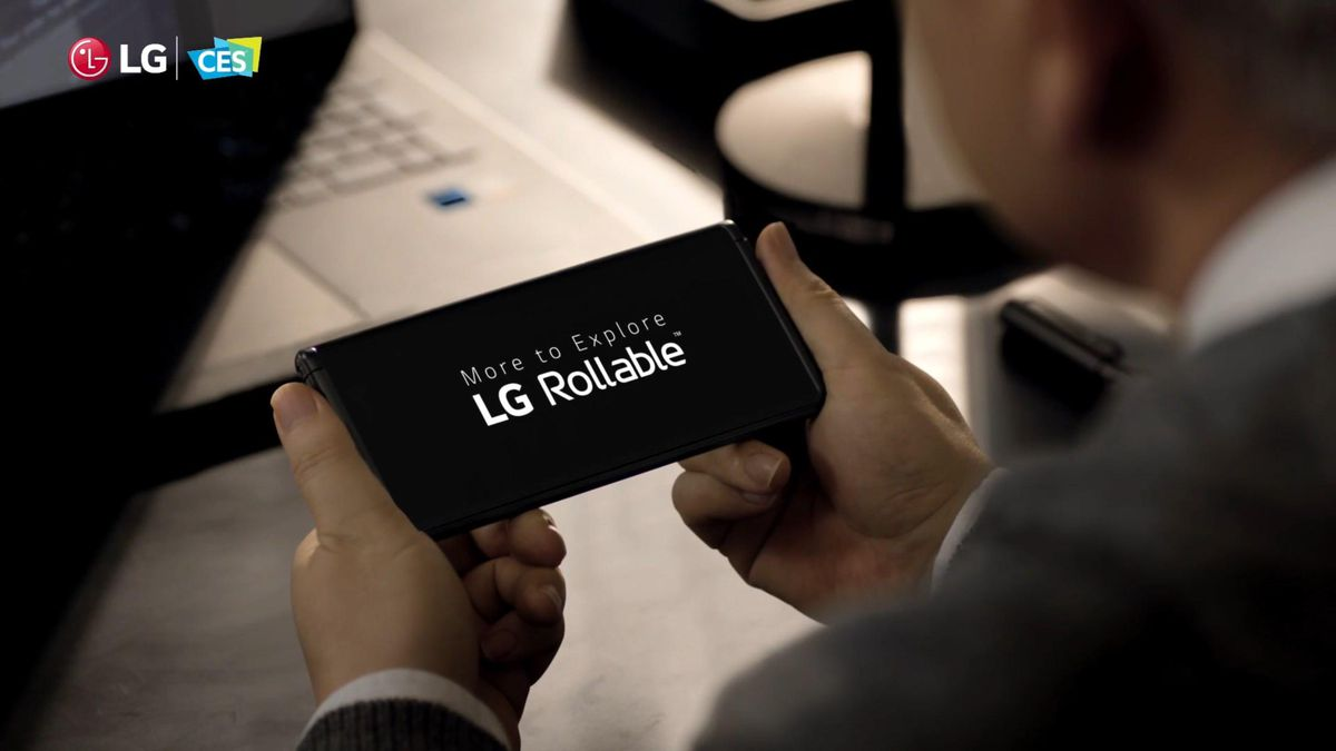 LG's first rollable phone confirmed to launch later this year