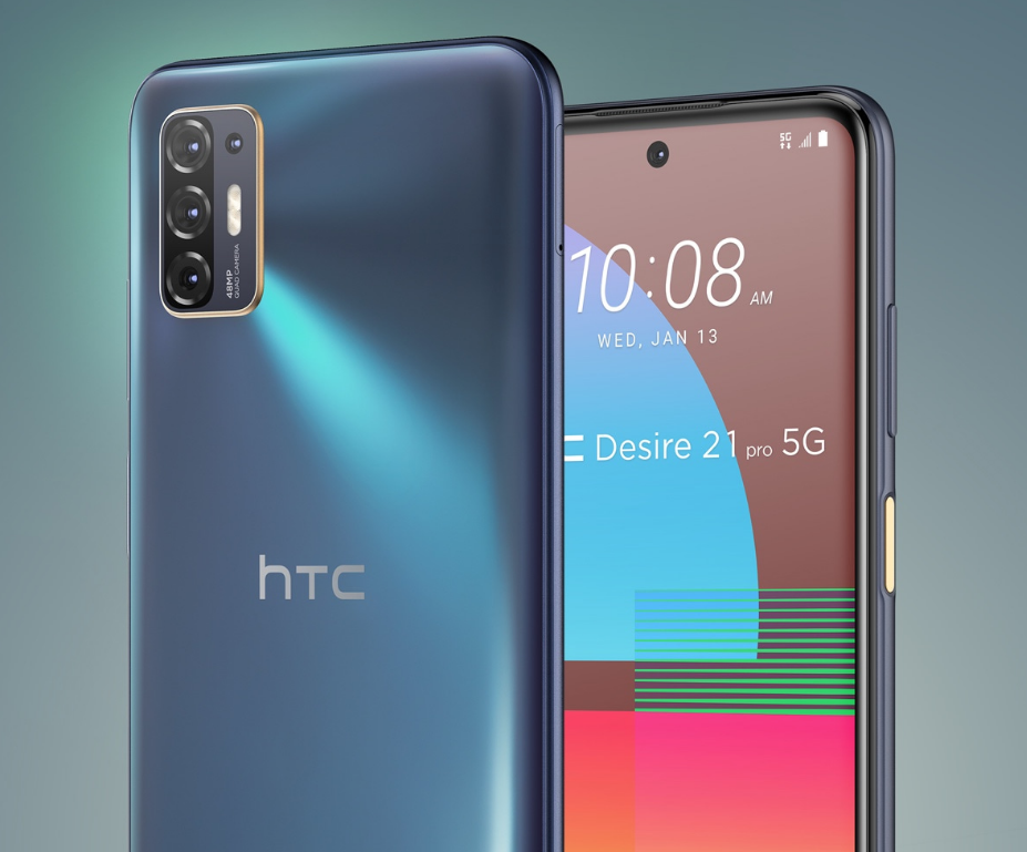 HTC Desire 21 Pro Launched With Snapdragon 690, 5000mAh Battery & More