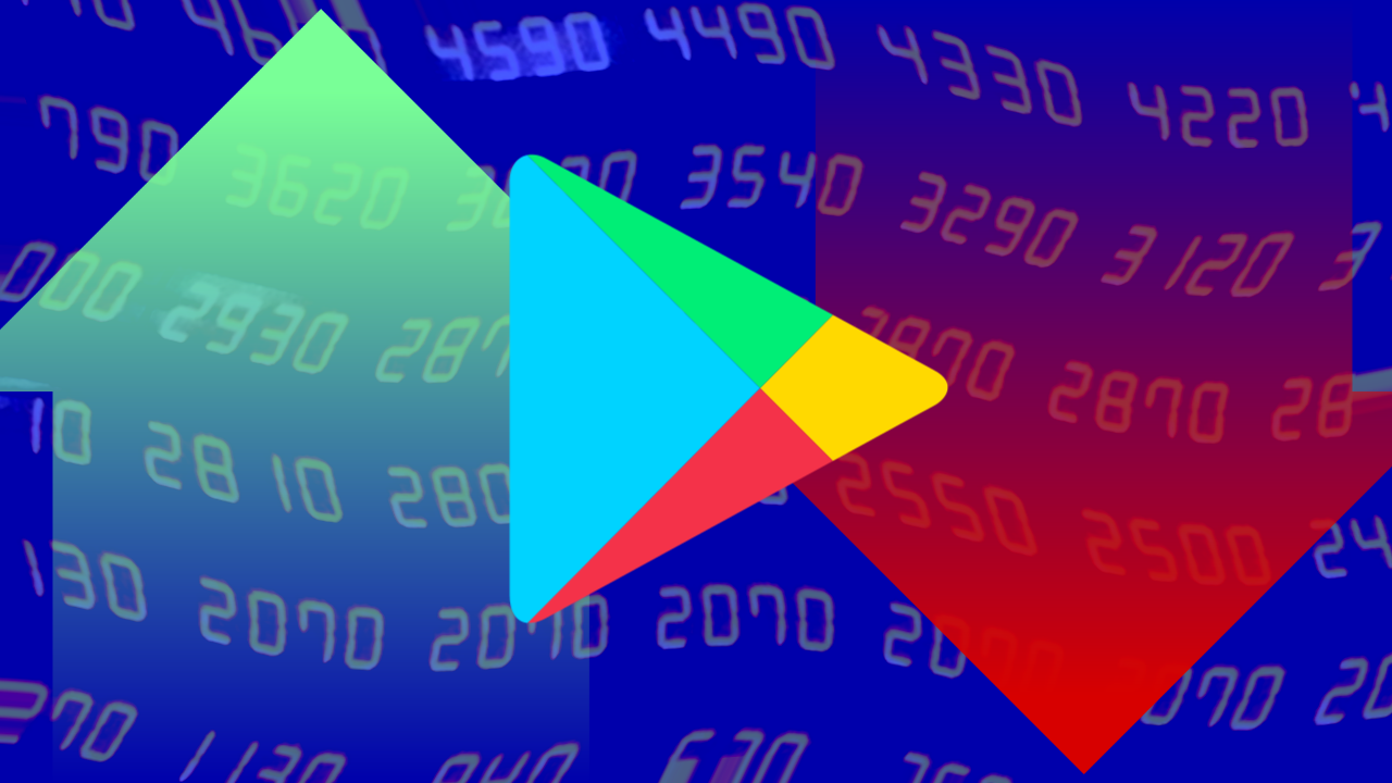 New icons let you see which apps are rising up and falling off the Play Store charts - Android Police