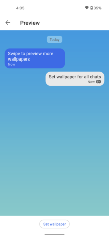 Signal starts catching up to WhatsApp by adding custom wallpapers and animated stickers (APK Download) 7