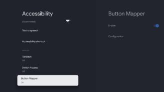 chromecast google tv button mapper 5