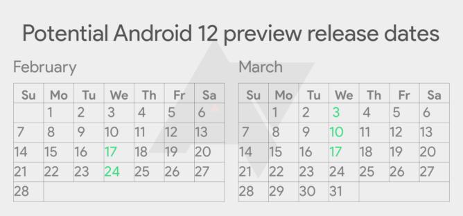 Android 12 تاريخ الإصدار والمعاينات والتجريبية وكل ما تريد معرفته
