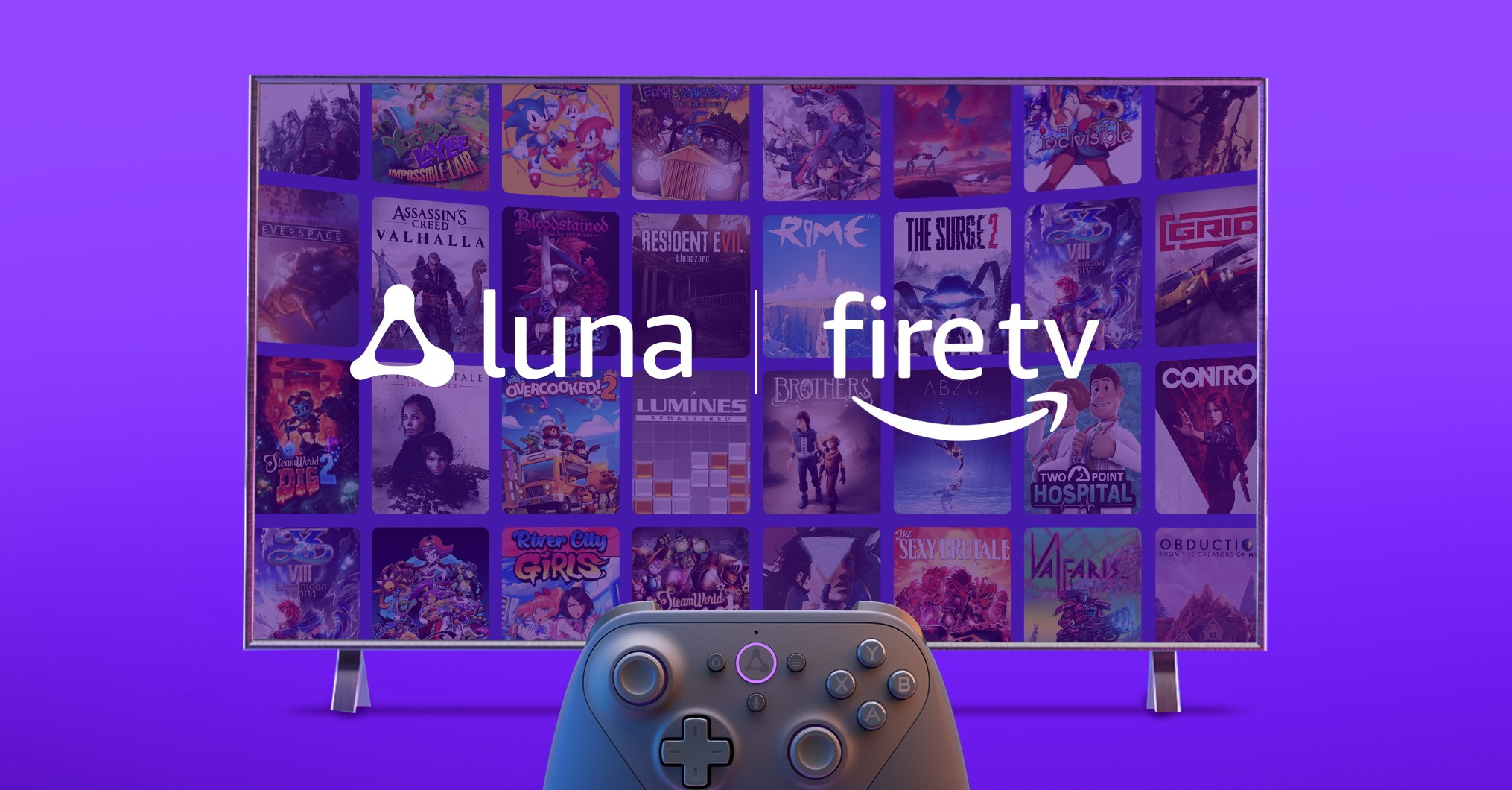 Anyone with a Fire TV can sign up for Amazon's Luna game-streaming service now thumbnail