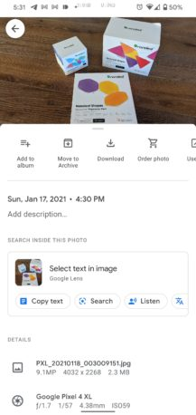 Google Lens Tools