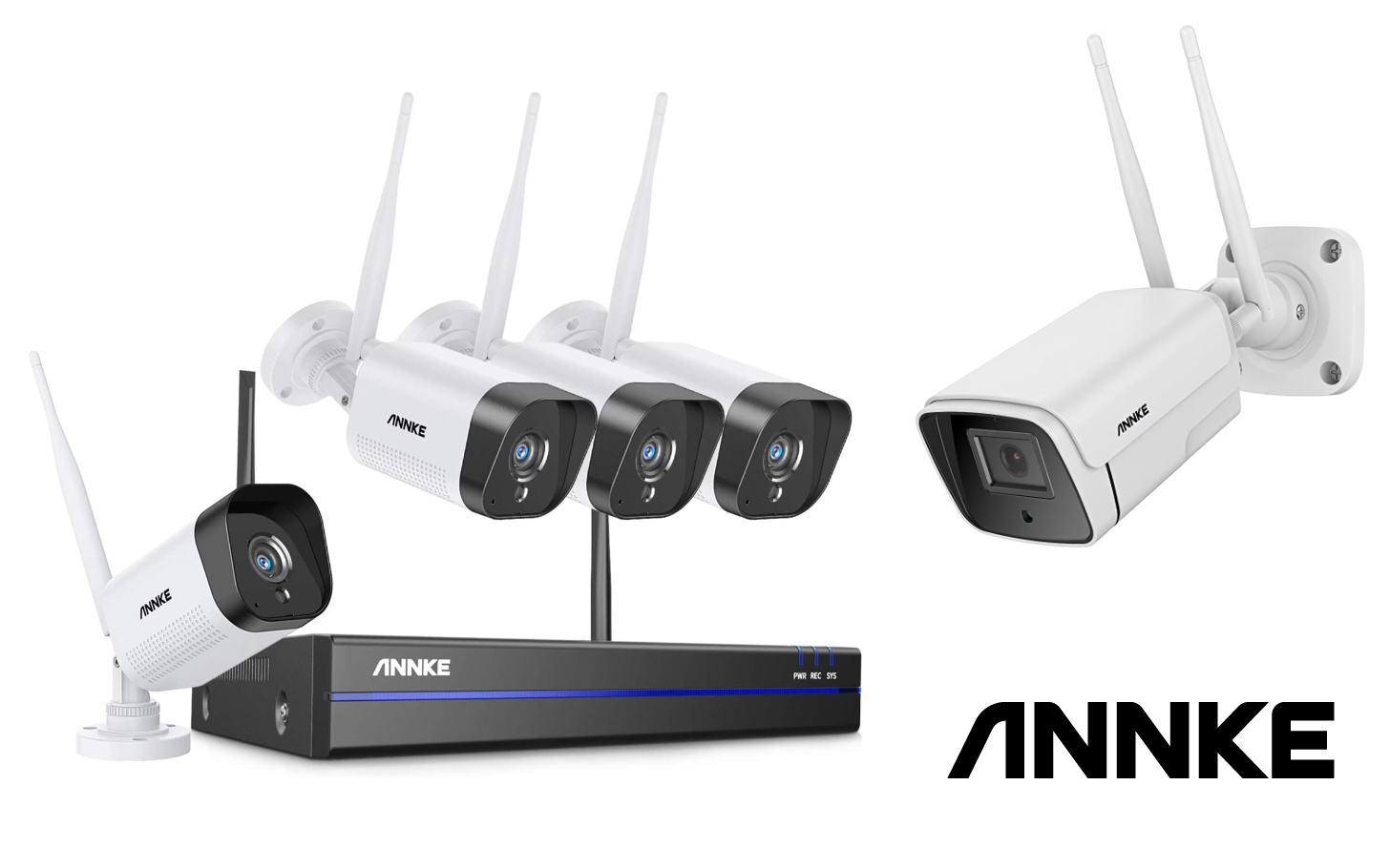 Giveaway: Win an ANNKE W300 security camera or WS200 camera system (US, UK)