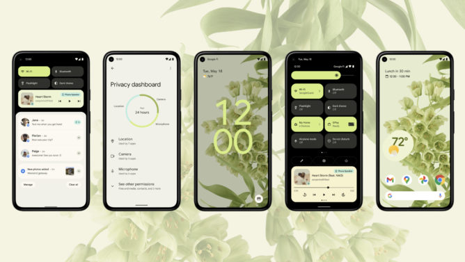 Android 12's responsive theming