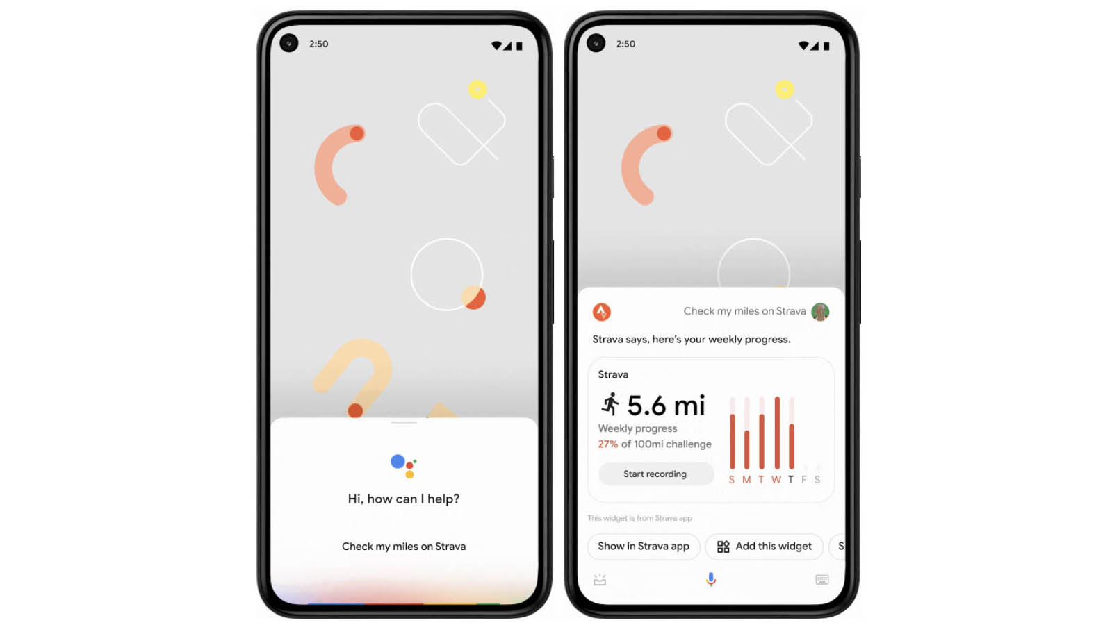 Widgets are coming to Google Assistant