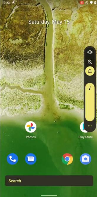 Android 12 beta unknown volume slider improvements