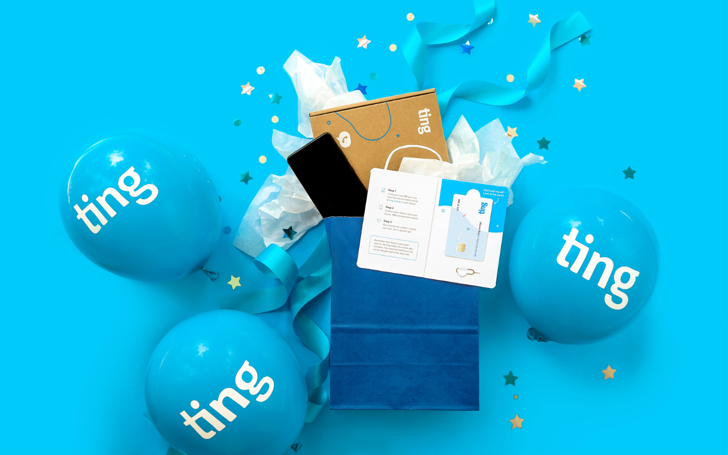 Save a total of  on this Ting Mobile plan with unlimited talk and text + 22GB of uncapped data