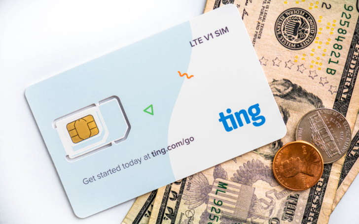 Ting Mobile Sim Cash