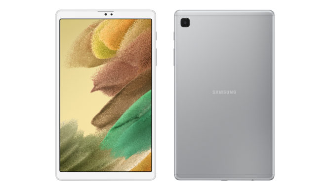 003 galaxy tab a7 lite front and back