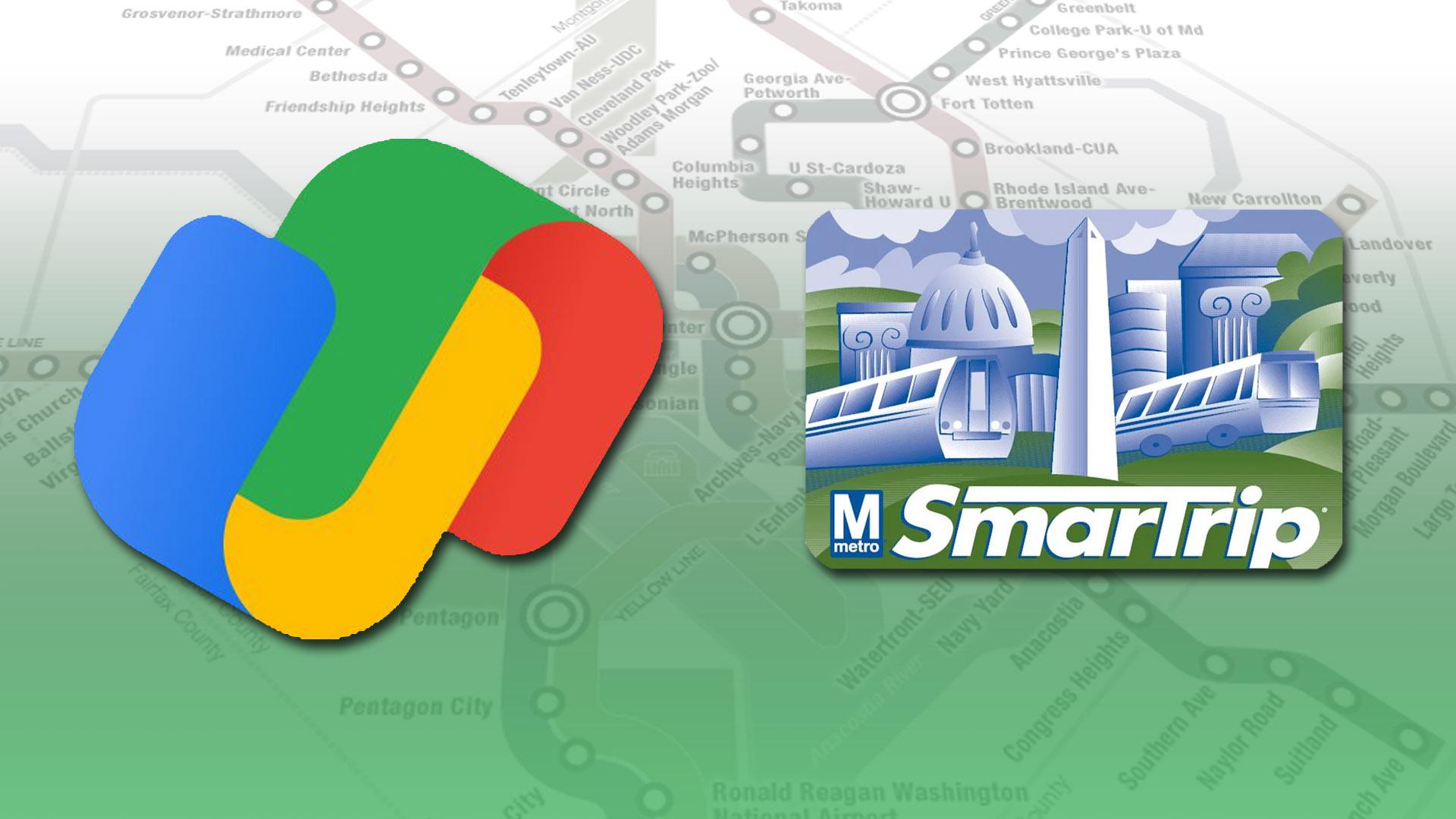 Google Pay now supports Washington DC Metro travel passes