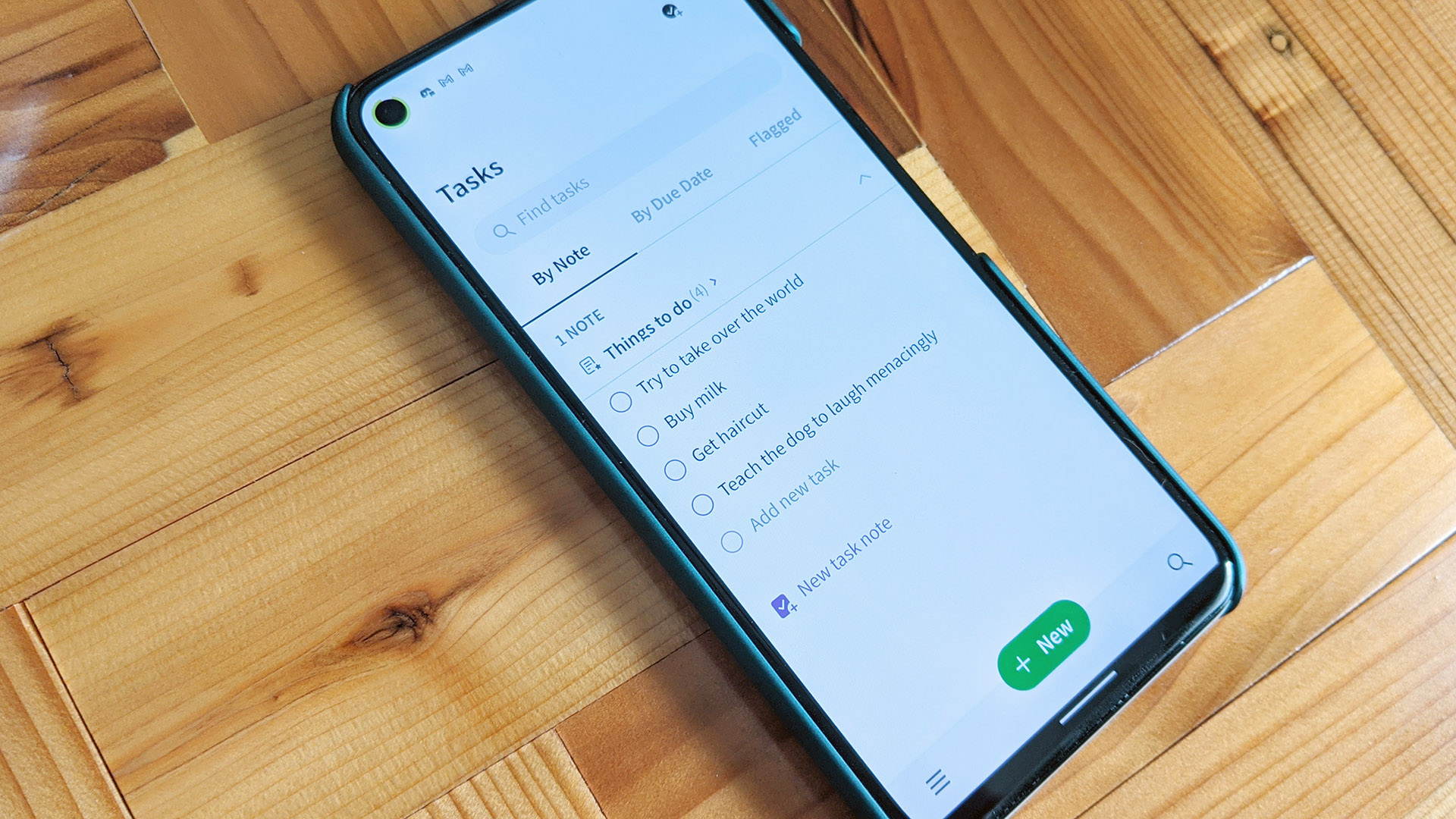 Evernote's new Tasks feature is free … for now