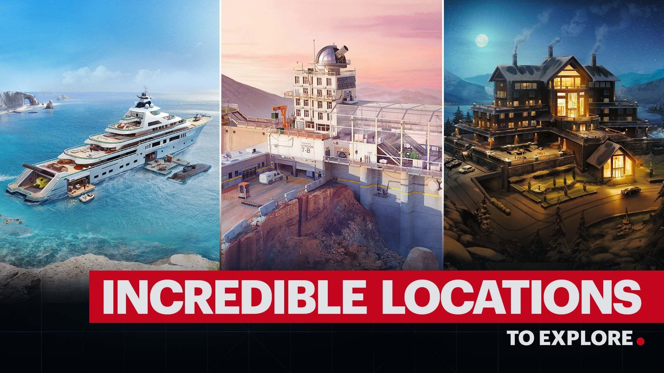 Hitman : Incredible Locations