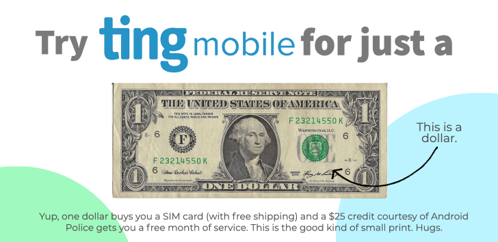 Try Ting Mobile for just a dollar